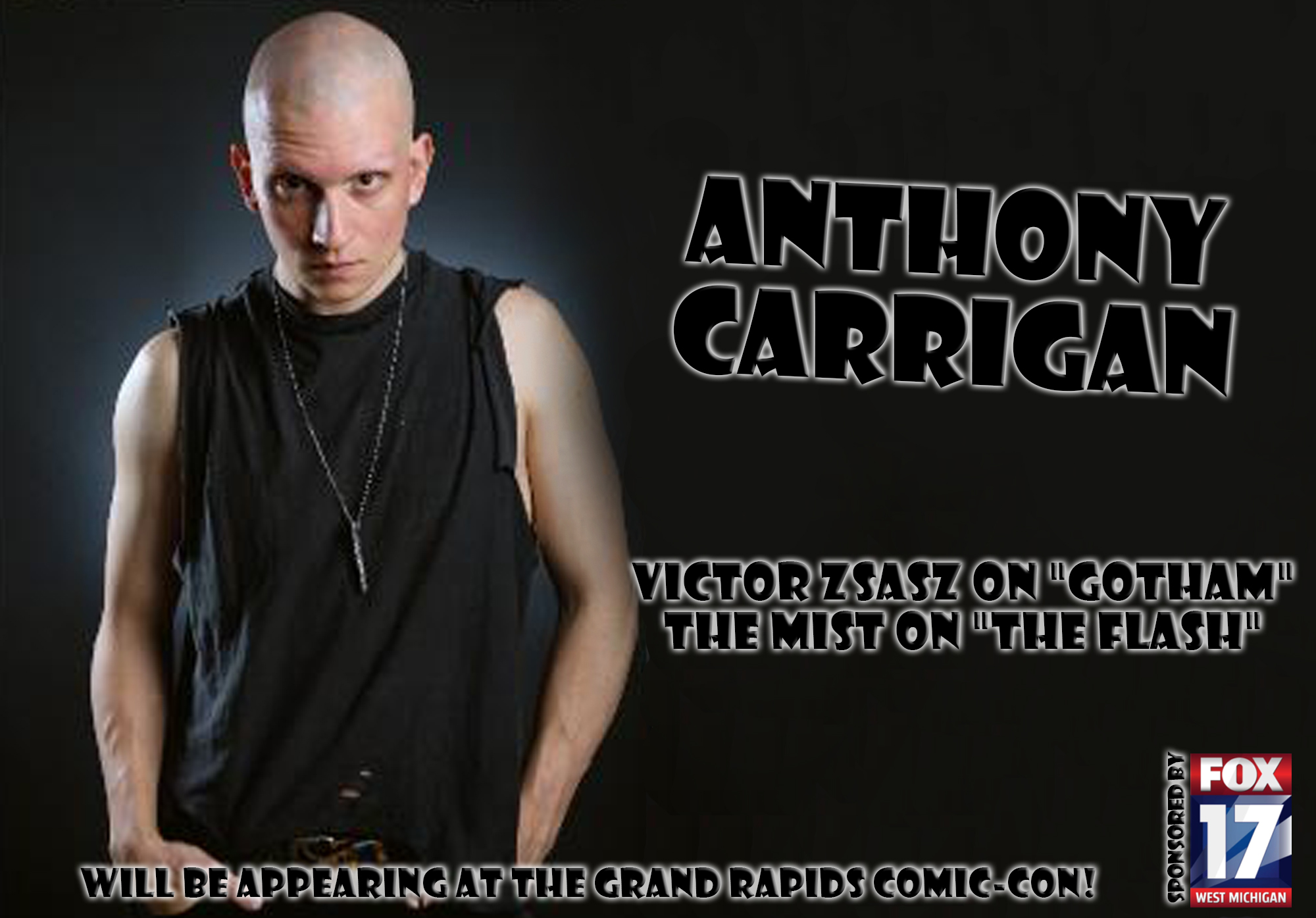 anthony carrigan bio