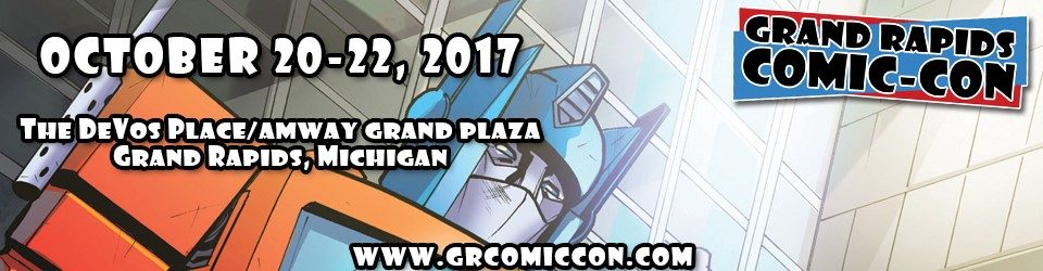 Image result for Grand rapids comic con 2017 logo